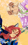 Tabitha and Lavender's KG Vertical Wallpaper 2 by LordNobleheart
