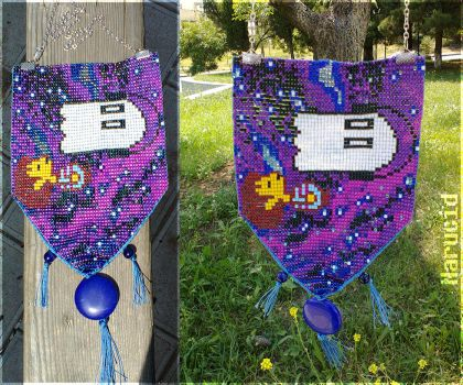Undertale bead necklace by Narucid
