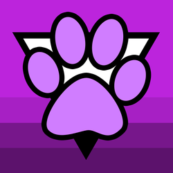 Asexual Furry Symbol v1 by asexual-deviants