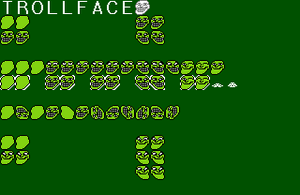 Troll Face Player Tile Sheet by XMSB