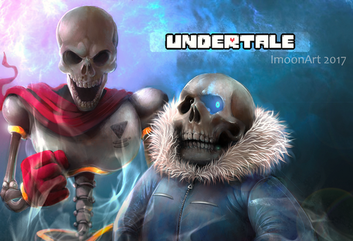 Papyrus n sans by ImoonArt