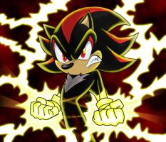 Shadow the Hedgehog by YGOdemoron