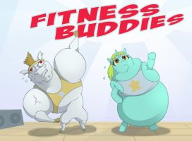 Fitness Buddies by foolyguy