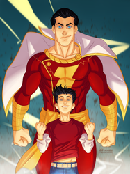 Shazam! by Grimmby