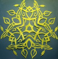 Dragonfly Snowflake by MirabellaTook