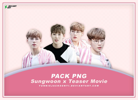 [PNG Pack #19] Wanna One Sungwoon x Teaser Movie by yunniejacksonyi