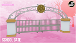 School Gate (Updated) by JimothyGreen12