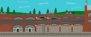 Vicarstown Station by pauloddd2005