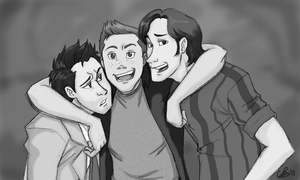 Team Free Will - BW by EndForEternity