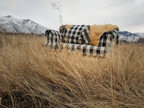 abandoned couch 6 by yellowicous-stock