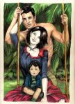 commission Alice Cullen family by aryundomiel