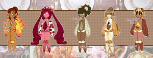 Necrobie Potluck Adopts [Set Price] CLOSED by Jiku-Tan