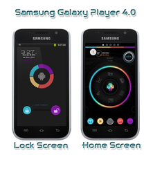 Galaxy Player- work in progress by Rasa13
