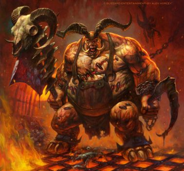 The Butcher by AlexHorley