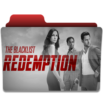 The Blacklist Redemption folder icon by PanosEnglish