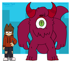 Sw Monster Tord Ref by Damian-Fluffy-Doge