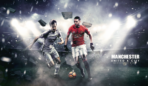 The Manchester Derby by MdTanzim