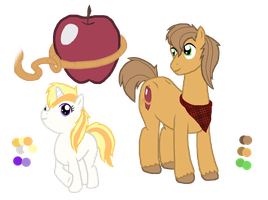 Honey Apple and Apple Harvest (Old) by Eeveewhite97