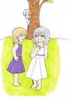 Childhood friends by Chibiklompen