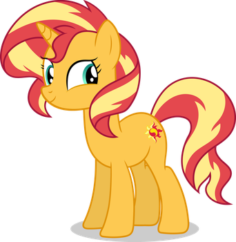 Sunset Shimmer - Forgotten Friendship by icantunloveyou
