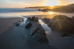 Dunworley Beach at Dawn by The-BigGuy