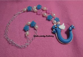 Another Dragonair necklace by gothic-yuna
