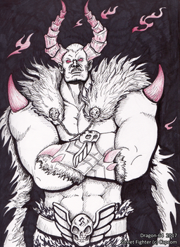 SFR  - Demon Lord Bison by dragon-64