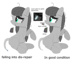 Animatronic pony 2 offer to adopt closed by FAND0M-TRASH