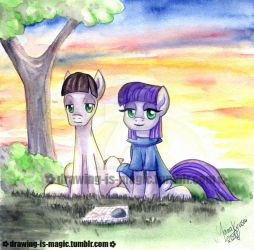 Maud And Mudbriar by Mana-Kyusai