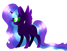 Toxic Enderflame - redesign by RosalineTheFox