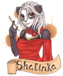 Shalinka gift badge by chaos-angel5