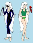 Felicia and Black Cat by streetgals9000 by JQroxks21