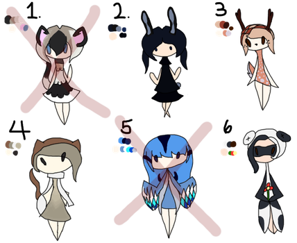 Point Adoptables Batch One by OfficialPuffems