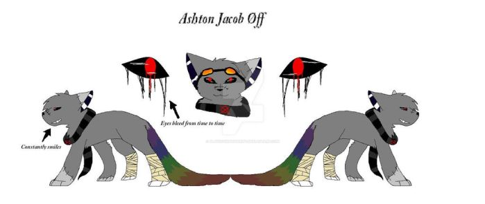 Reference Sheets - Ashton Jacob Off by Playingwithspirits