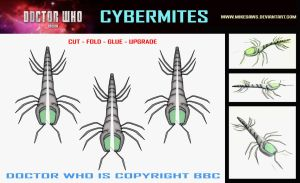 Doctor Who -  Cybermites by mikedaws