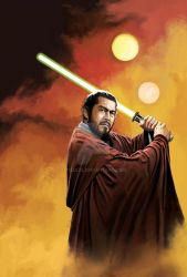 Toshi Ronin - Jedi master by ticulin