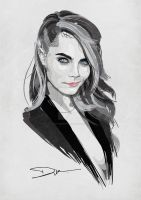 Cara Delevingne 2 by dIk-ThePrince