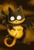 Bat cat by leamatte