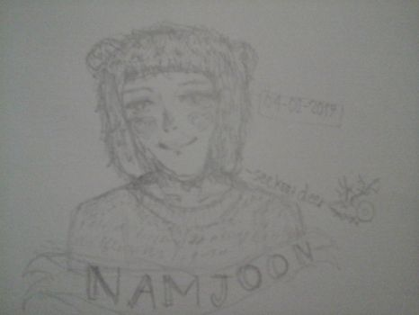 NAMJOON by iHajimeYukina