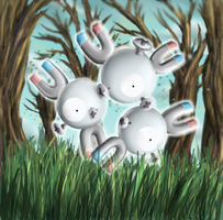 Magneton - Shining Forest art