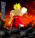 Broly The Legendary Super Saiyan by WOLFBLADE111