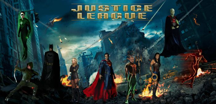 Justice League Unlimited by QWoods