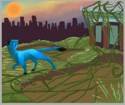 Inari: Second Place WIP by Flashpelt1