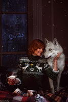 The Witcher - New Year - Shani and The White Wolf by MilliganVick