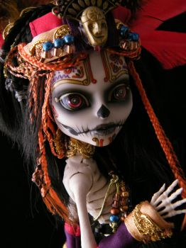 Skelita close up by EngelMech