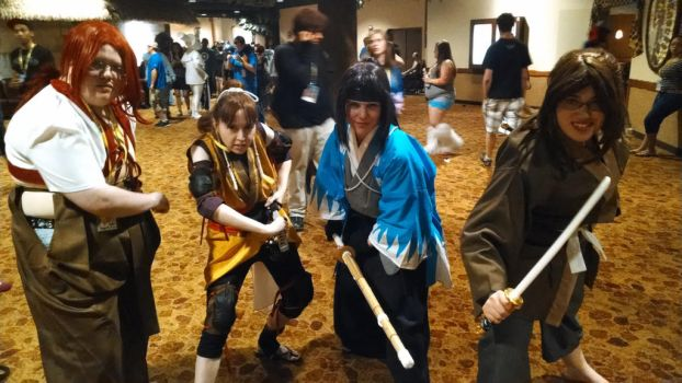 ColossalCon Shinsengumi by PaperChibi