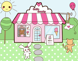 The Candy Cafe by steffne