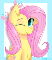 Fluttershy by Imbirgiana