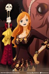 Nami Brook and Tako~YoohPopon // One Piece Ch910 by goldenhans