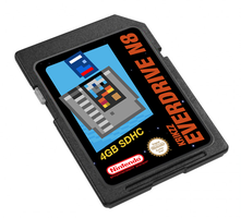 WIP Everdrive N8 SD Card Label by NeoRame